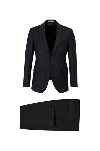 Erkek Giyim - Yünlü Slim Fit Takım Elbise