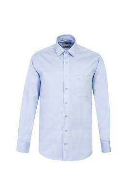 Erkek Giyim - UÇUK MAVİ M Beden Uzun Kol Non Iron Klasik Gömlek