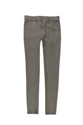 Erkek Giyim - KOYU BEJ 54 Beden Kuşgözü Spor Pantolon