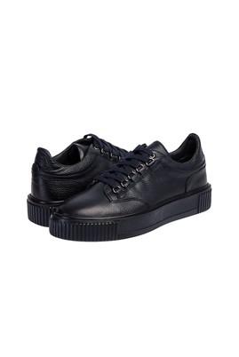 Erkek Giyim - ORTA LACİVERT 45 Beden Sneaker Ayakkabı