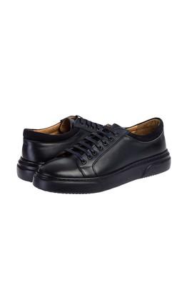 Erkek Giyim - KOYU LACİVERT 42 Beden Sneaker Ayakkabı