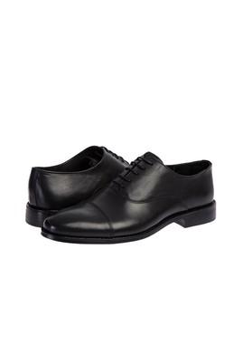 Erkek Giyim - SİYAH 43 Beden Bağcıklı Klasik Ayakkabı