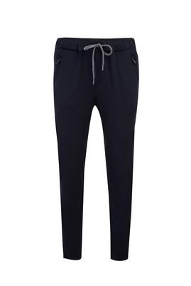 Erkek Giyim - ORTA LACİVERT S Beden Slim Fit Jogger Pantolon