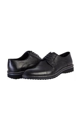 Erkek Giyim - SİYAH 42 Beden Spor Deri Ayakkabı