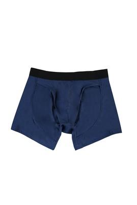 Erkek Giyim - GÖK MAVİSİ M Beden Gömlek Tutucu Boxer