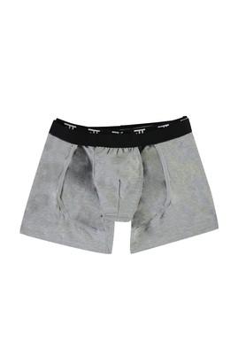 Erkek Giyim - ORTA GRİ M Beden Gömlek Tutucu Boxer