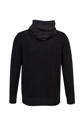 Erkek Giyim - Bato Yaka Kapüşonlu Hırka