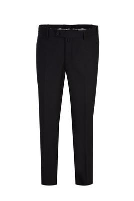 Erkek Giyim - SİYAH 50 Beden Yünlü Klasik Pantolon