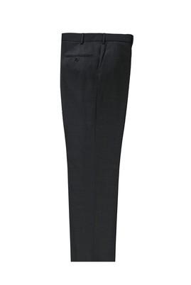 Erkek Giyim - KOYU FÜME 60 Beden Yünlü Klasik Pantolon