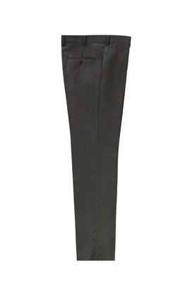 Erkek Giyim - ORTA GRİ 50 Beden Yünlü Klasik Pantolon