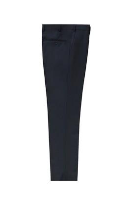 Erkek Giyim - KOYU LACİVERT 58 Beden Yünlü Klasik Pantolon