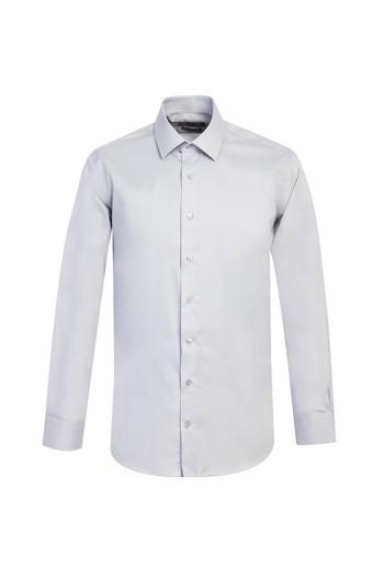Erkek Giyim - Uzun Kol Slim Fit Non Iron Gömlek
