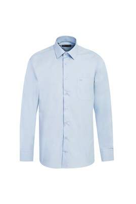Erkek Giyim - UÇUK MAVİ 4X Beden Uzun Kol Klasik Gömlek
