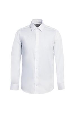 Erkek Giyim - BEYAZ XS Beden Uzun Kol Non Iron Slim Fit Gömlek