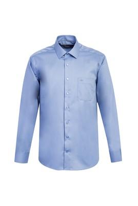 Erkek Giyim - AÇIK MAVİ XXL Beden Uzun Kol Non Iron Klasik Gömlek