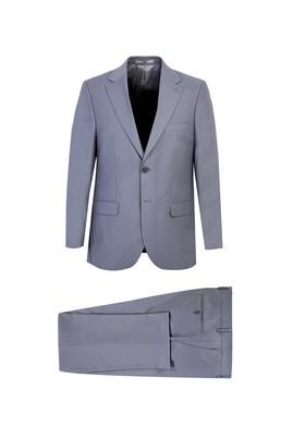 Erkek Giyim - AÇIK GRİ 64 Beden Klasik Takım Elbise