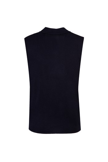 Erkek Giyim - Yünlü Düğmeli Regular Fit Kruvaze Yelek