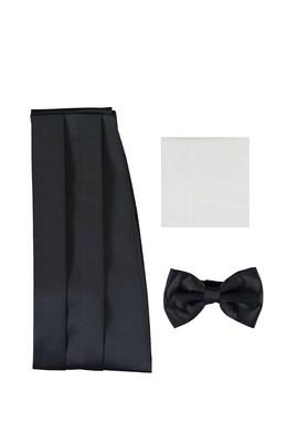 Erkek Giyim - LACİVERT STD Beden Papyon Takımı