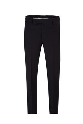 Erkek Giyim - SİYAH 48 Beden Yünlü Klasik Pantolon