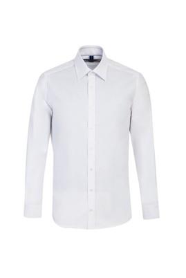 Erkek Giyim - BEYAZ L Beden Uzun Kol Oxford Slim Fit Gömlek