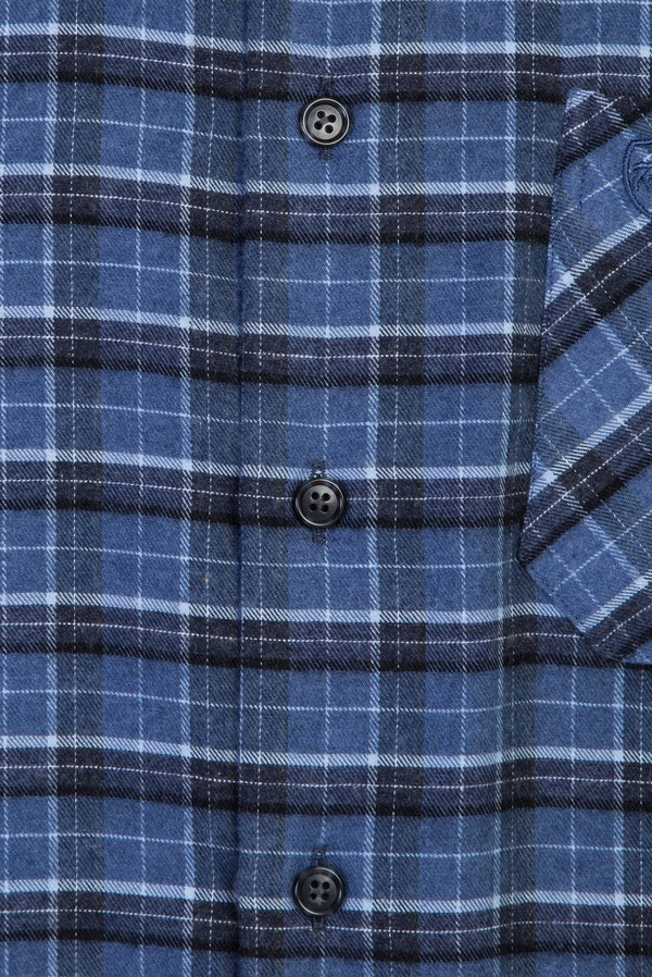 Uzun Kol Regular Fit Ekose Oduncu Gömlek
