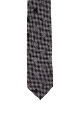 Erkek Giyim - ORTA GRİ 70 Beden Desenli Kravat