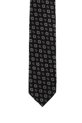 Erkek Giyim - KOYU YEŞİL 70 Beden Desenli Kravat
