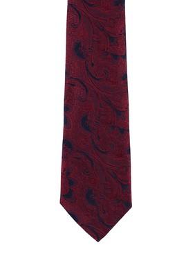 Erkek Giyim - KOYU KIRMIZI  Beden Desenli Kravat