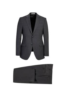 Erkek Giyim - MARENGO 56 Beden Slim Fit Yünlü Takım Elbise