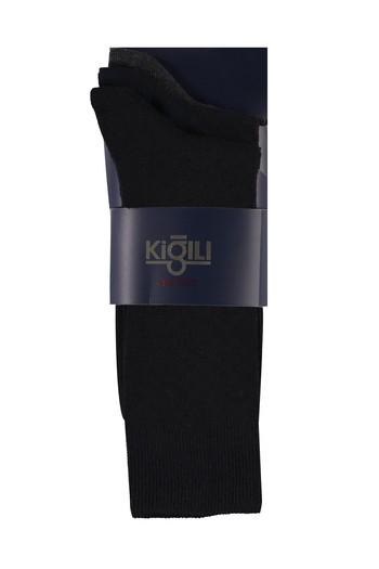Erkek Giyim - 3'lü Desenli Çorap