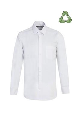 Erkek Giyim - BEYAZ L Beden Recycled Gömlek