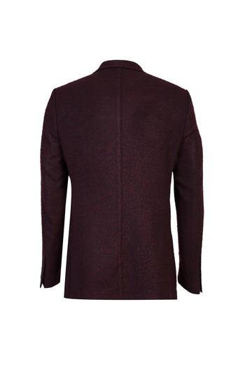 Erkek Giyim - Regular Fit Kuşgözü Ceket