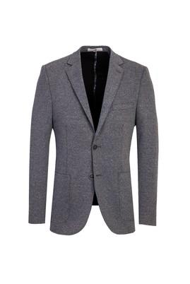 Erkek Giyim - ORTA GRİ 46 Beden Regular Fit Ceket