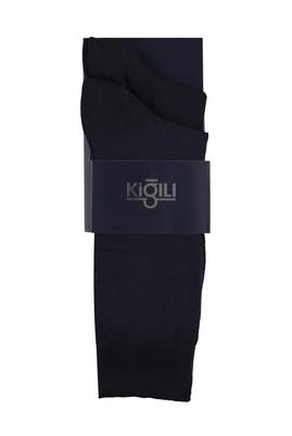 Erkek Giyim - ORTA LACİVERT 39-41 Beden 2'lİ Bambu Çorap