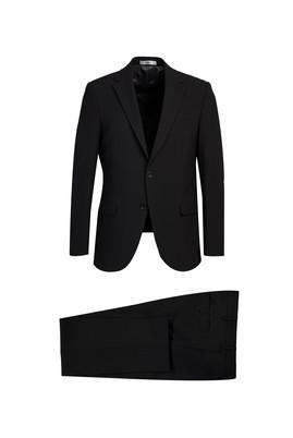 Erkek Giyim - SİYAH 48 Beden Klasik Takım Elbise