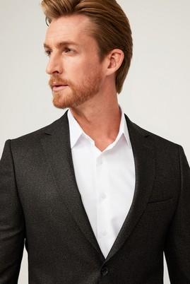 Erkek Giyim - SİYAH 50 Beden Klasik Ceket