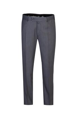 Erkek Giyim - ORTA GRİ 52 Beden Slim Fit Pantolon