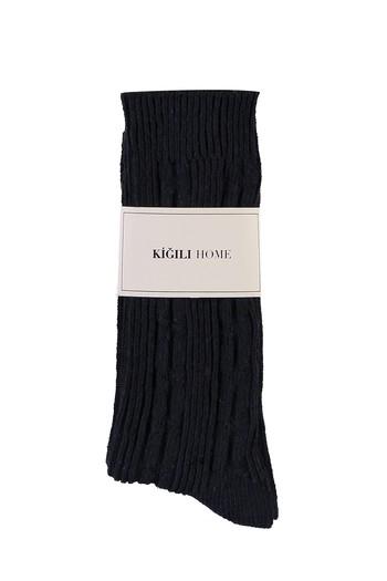 Erkek Giyim - Desenli Triko Çorap