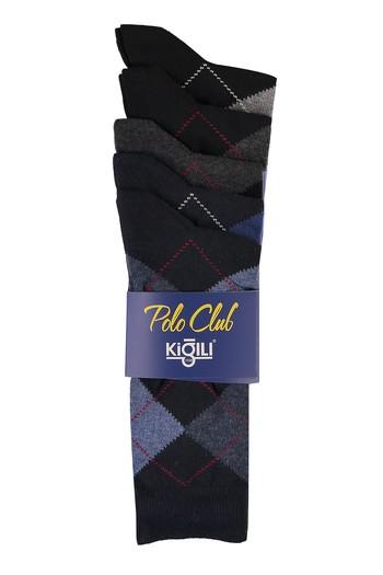 Erkek Giyim - 5'li Desenli Çorap