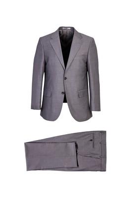 Erkek Giyim - ORTA GRİ 60 Beden Klasik Takım Elbise