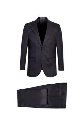Erkek Giyim - ORTA ANTRASİT 68 Beden Klasik Takım Elbise