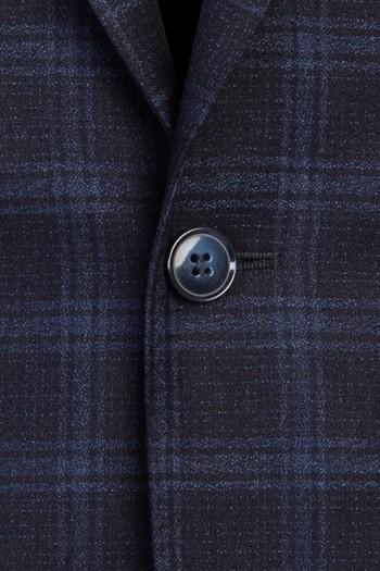 Erkek Giyim - Ekose Klasik Takım Elbise
