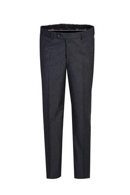 Erkek Giyim - ORTA FÜME 68 Beden Kuşgözü Klasik Pantolon