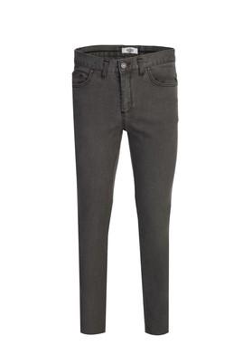 Erkek Giyim - ORTA HAKİ 44 Beden Denim Pantolon