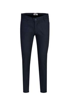 Erkek Giyim - ORTA LACİVERT -1 46 Beden Kuşgözü Spor Pantolon