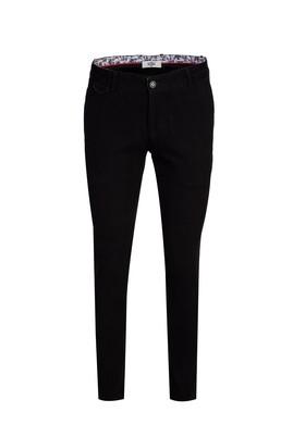 Erkek Giyim - SİYAH 46 Beden Kuşgözü Spor Pantolon