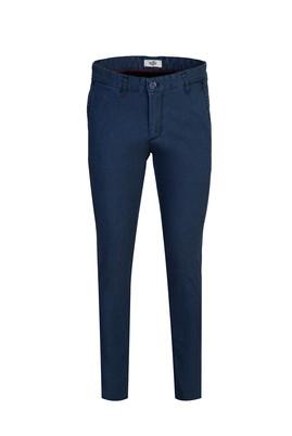 Erkek Giyim - ORTA LACİVERT 48 Beden Kuşgözü Spor Pantolon