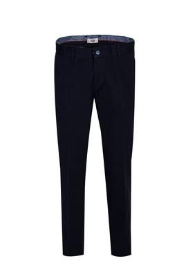 Erkek Giyim - KOYU LACİVERT 40 Beden Slim Fit Spor Pantolon