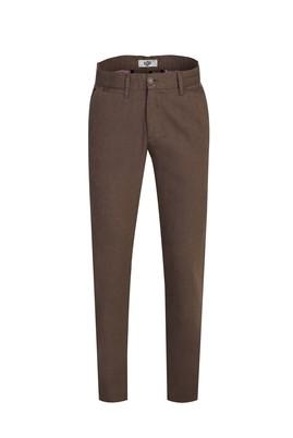 Erkek Giyim - CAMEL 46 Beden Slim Fit Desenli Spor Pantolon