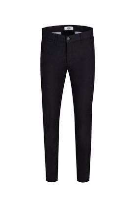 Erkek Giyim - ORTA ANTRASİT 46 Beden Slim Fit Desenli Spor Pantolon